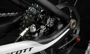 Carbon Swingarm and Dropouts