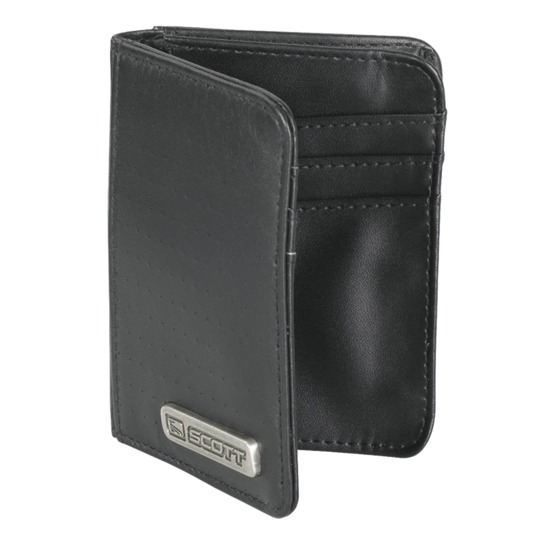 Leather Wallet CC Scott