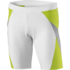 white/lime green