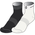 Socks Scott Logo Light PAK-2