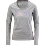 Tee W&#039;s Scott Glitter l/sl