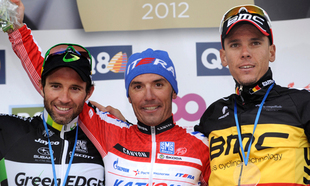 Michael Albasini Claims Second at La Flche Wallonne