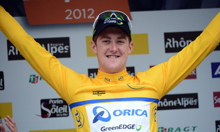 Luke Durbridge wins Critrium du Dauphin Prologue