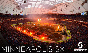 SCOTT at the Minneapolis Supercross and 1-2 Finish in the National Hare and Hound Series