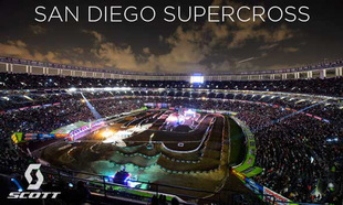 SCOTT Athletes at San Diego Supercross
