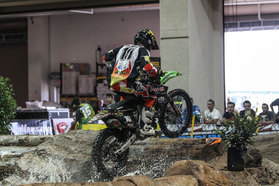 Colton Haaker wins the first round of Endurocross