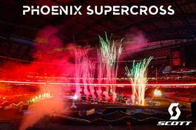 SCOTT Motosports Athletes go to Battle at the Phoenix Supercross