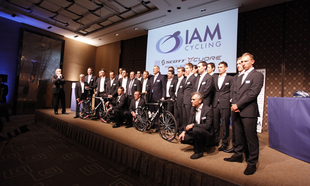IAM Cycling Team Presented to the Public