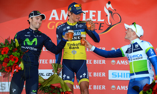 Simon Gerrans podio nell&#039; Amstel Gold Race