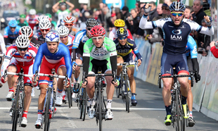 Pelucchi Brings First IAM Cycling Stage Win