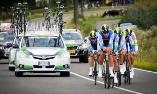 ORICA-GreenEDGE wins Eneco Tour Team Time Trial 