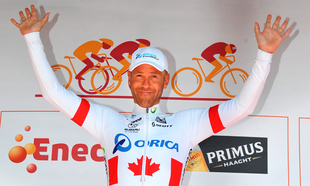 Svein Tuft wins Eneco Tour Time Trial