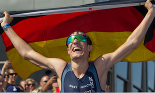 Kienle Crowned Ironman 70.3 World Champion