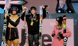 Bowman and Roz G Go One and Two at X Games