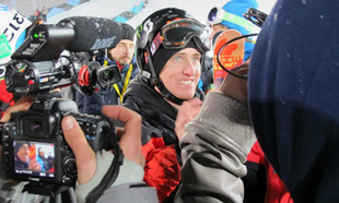 Tom Wallisch wins Winter X-Games 2012 in Aspen