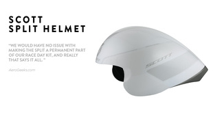 Split Bike Helmet reviewed by AeroGeeks.com