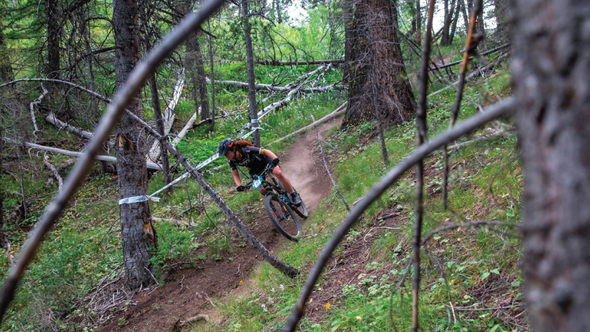 Teal Stetson-Lee wins 2nd round of the SCOTT Enduro Cup