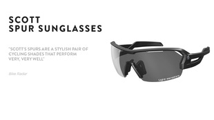 The SCOTT Spur sunglasses reviewed by BikeRadar.com