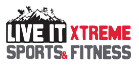 Live It Xtreme Sports and Fitness Logo