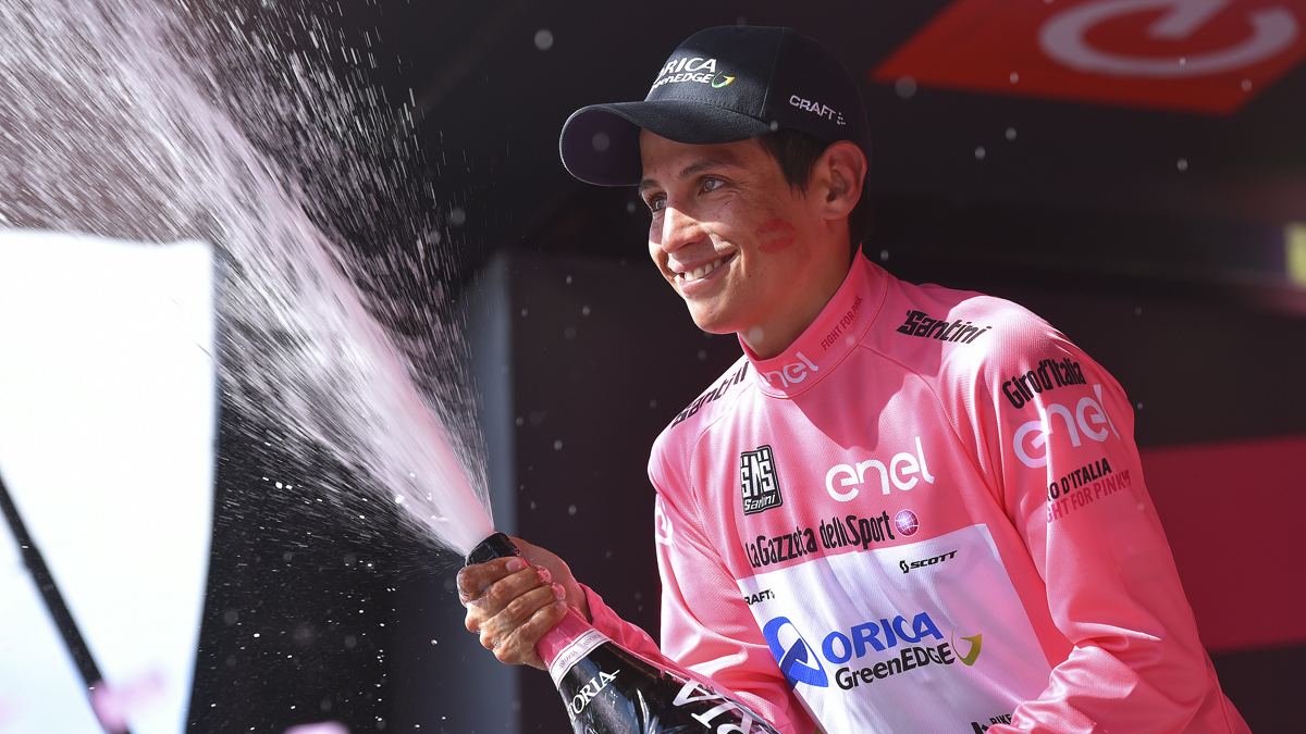 Chavez Takes Pink at the Giro d'Italia
