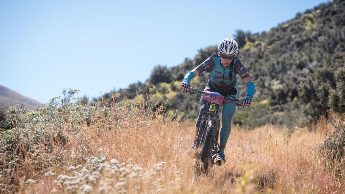 Sonya Looney Powers to 2nd In New Zealand
