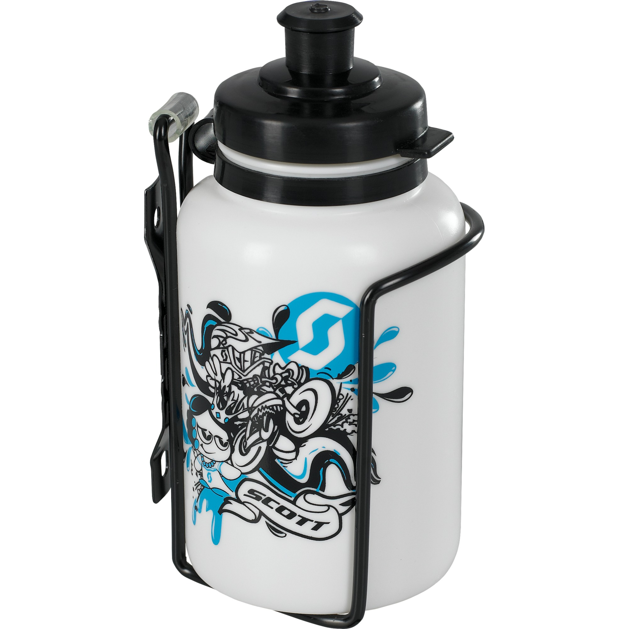SCOTT Water bottle + Bottle Cage Kids Ki