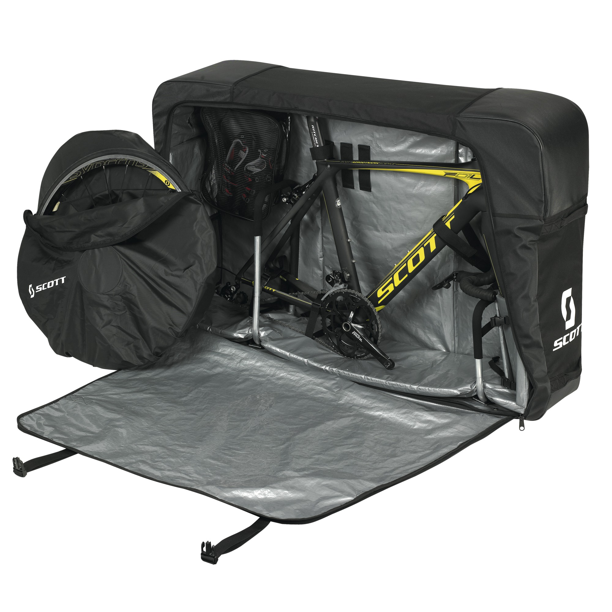 Bike transport bag premium for Housse vtt transport