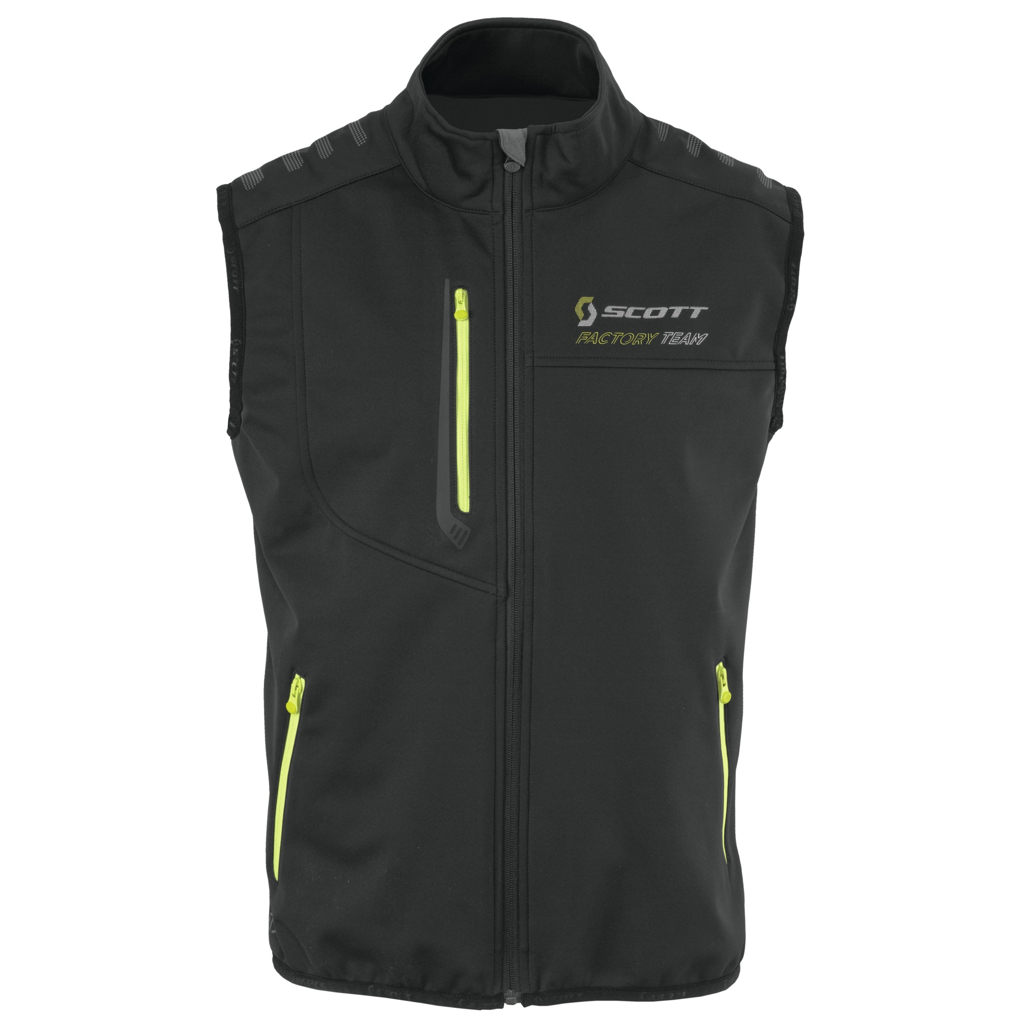 SCOTT FACTORY TEAM SOFTSHELL VEST