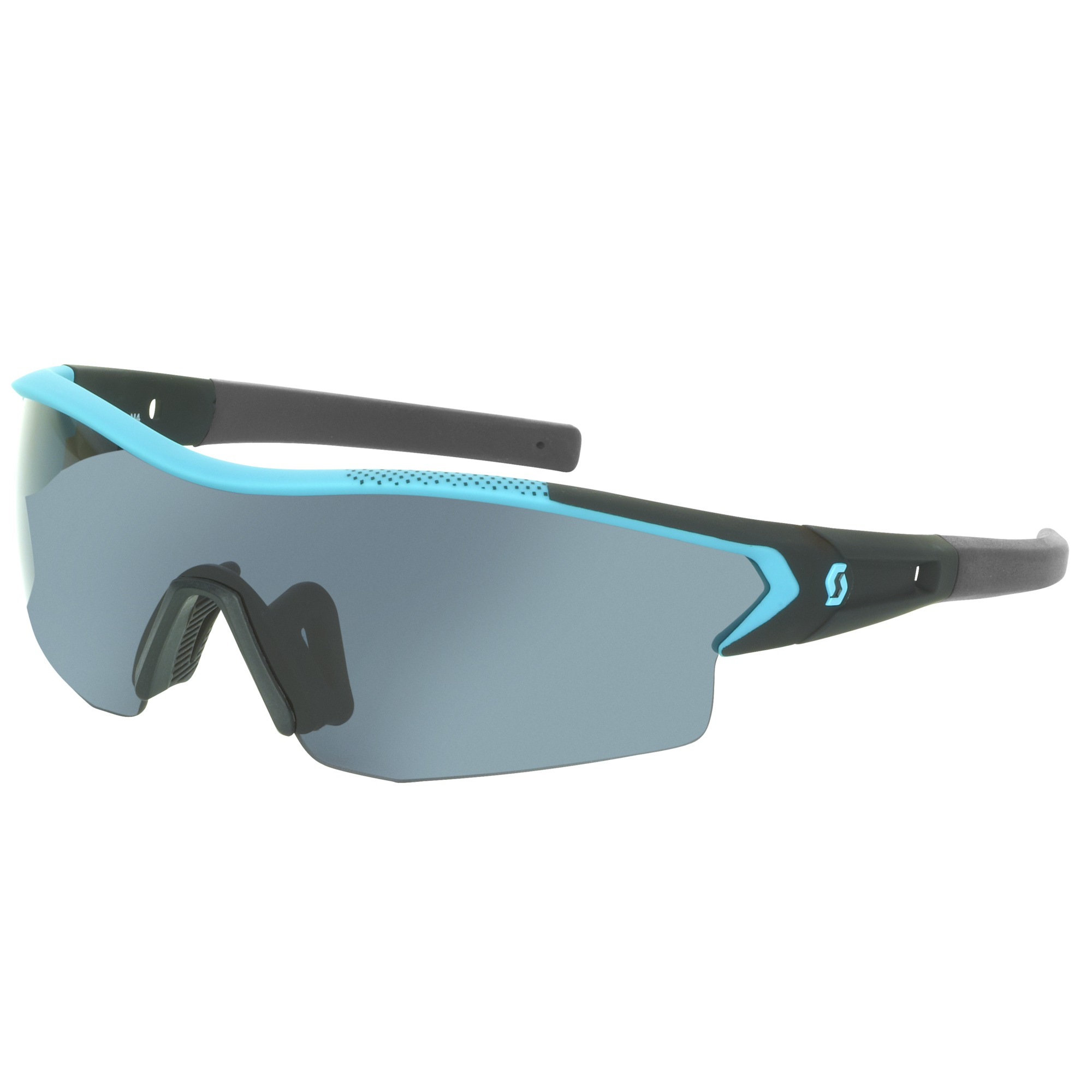 Scott Leap Sonnenbrille black glossy grey + clear 7XqR9FgFjN