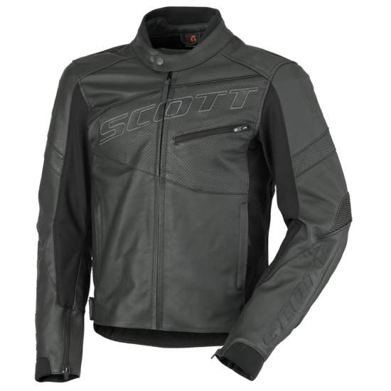 SCOTT Track Leather Blouson