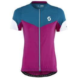SCOTT Endurance F-Zip s/sl Women's Shirt