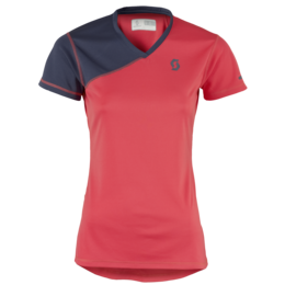 SCOTT TRAIL MTN V-NECK S/SL WOMEN'S SHIRT