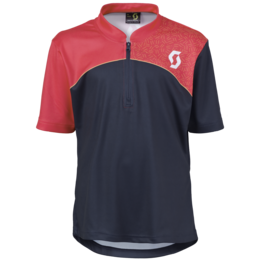 SCOTT Trail Flow Q-Zip s/sl Junior Shirt