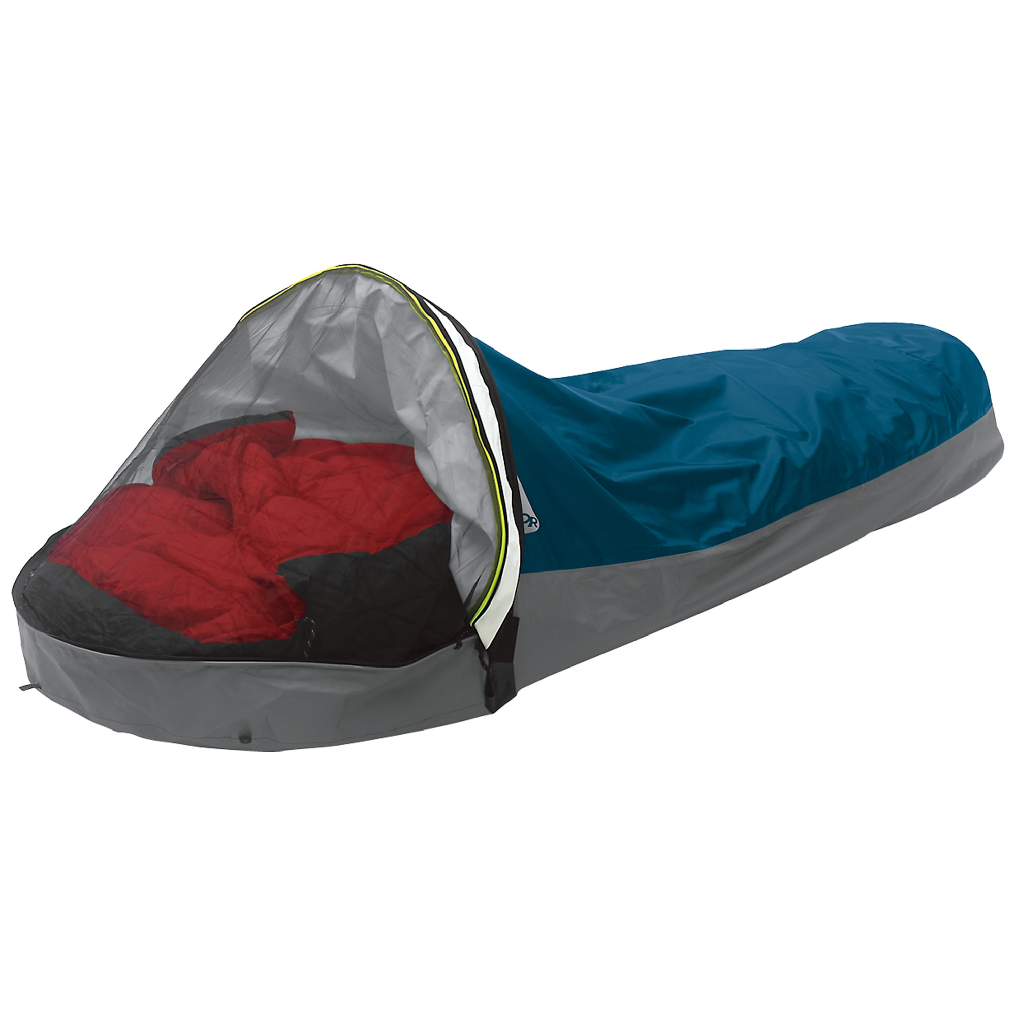alpine bivy mojo blue outdoor research