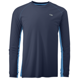 OR Men's Echo L/S Duo Tee night/hydro