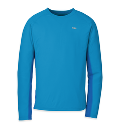 OR Men's Echo L/S Duo Tee hydro/glacier