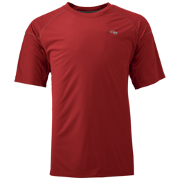 OR Men's Echo Tee tomato/pewter