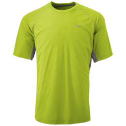 OR Men's Echo Duo Tee lemongrass/pewter