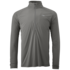 OR Men's Echo L/S Zip Tee pewter/charcoal