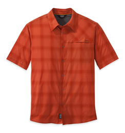 OR Men's Astroman S/S Sun Shirt diablo/hot sauce