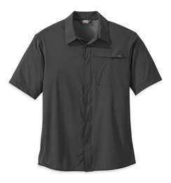 OR Men's Astroman S/S Sun Shirt charcoal