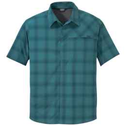 OR Men's Astroman S/S Sun Shirt washed peacock