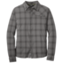 OR Men's Astroman L/S Sun Shirt pewter/charcoal
