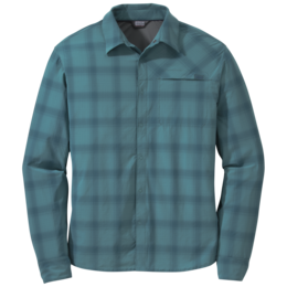 OR Men's Astroman L/S Sun Shirt washed peacock