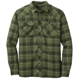 OR Men's Feedback Flannel Shirt kale