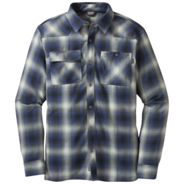 OR Men's Feedback Flannel Shirt black/baltic