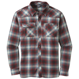 OR Men's Feedback Flannel Shirt black/redwood