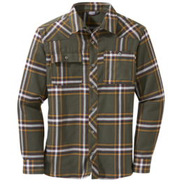 OR Men's Feedback Flannel Shirt juniper plaid