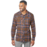 OR Men's Feedback Flannel Shirt carob plaid