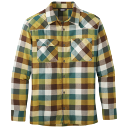 OR Men's Feedback Flannel Shirt bark plaid